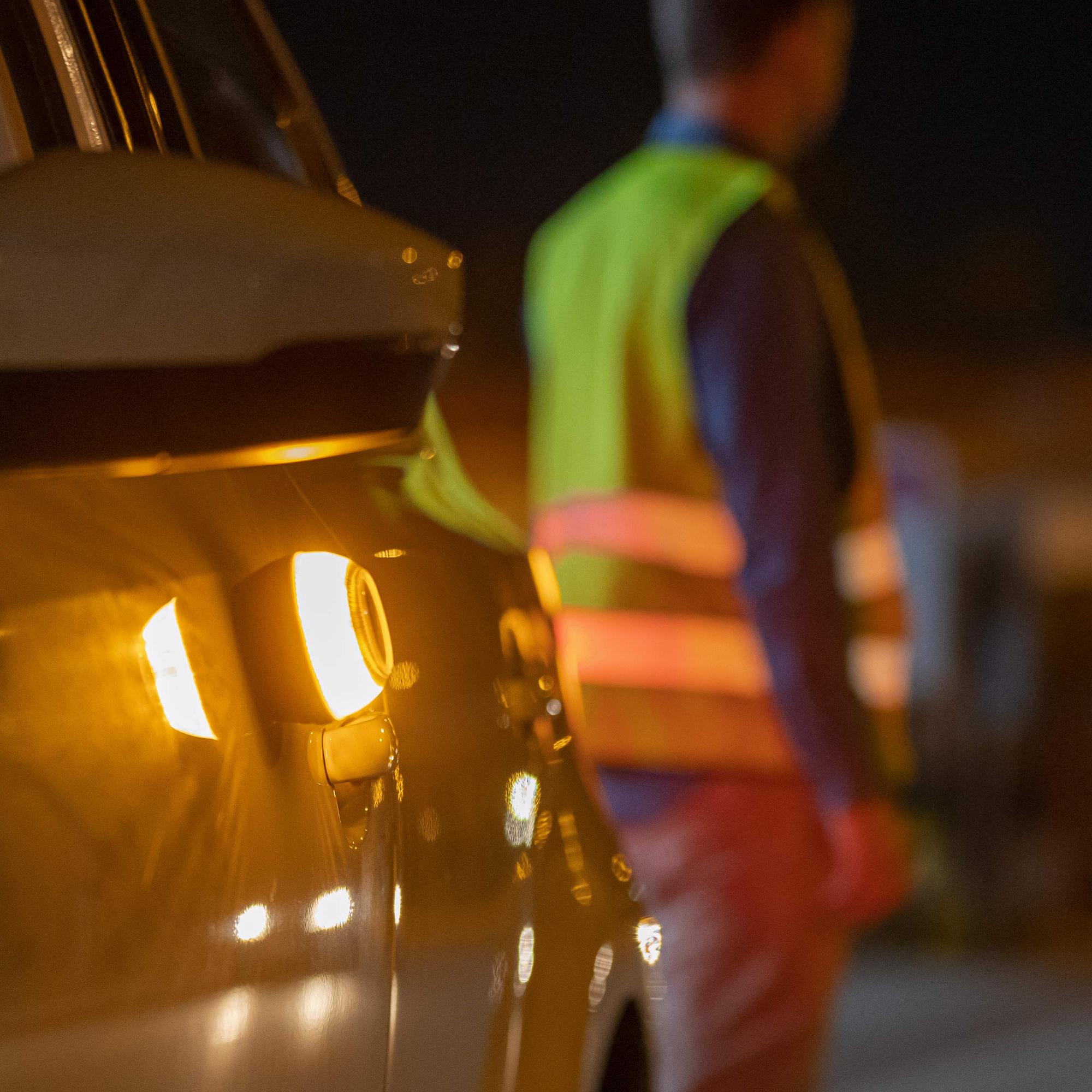 Luz de emergencia para coches con imán